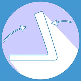 Dimensions folded: (L) 28 cm (W) 39 cm (H) 130 cm