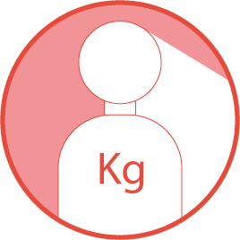Maximum recommended user weight: 100Kg