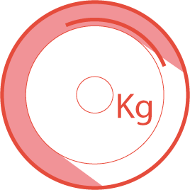 Flywheel weight: Equivalent 14 kg