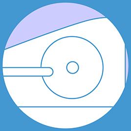 Flywheel weight: Equivalent 8 kg