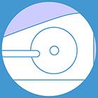 Flywheel weight: 8 Kg